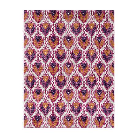 Decor 140 Mackworth Rectangular Indoor Rugs, One Size , Purple