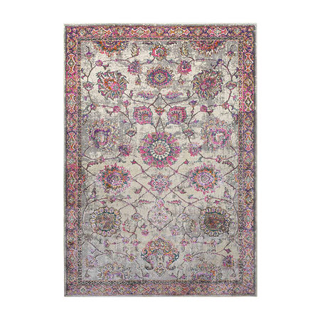 Decor 140 Ludwick Rectangular Indoor Rugs, One Size , Pink