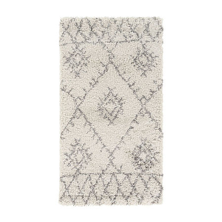 Decor 140 Isidora Rectangular Indoor Rugs, One Size , White