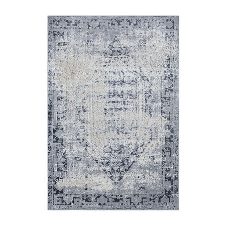 Decor 140 Pricella Rectangular Indoor Rugs, One Size , Gray