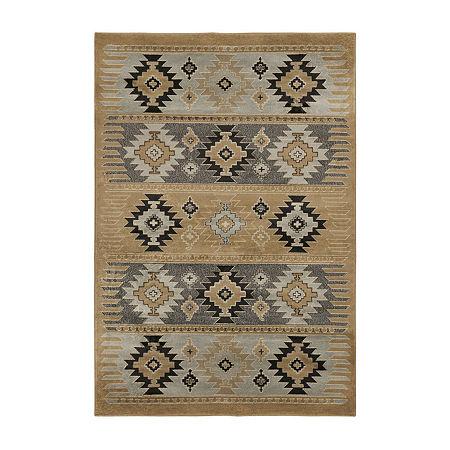 Decor 140 Zuata Rectangular Indoor Rugs, One Size , Brown