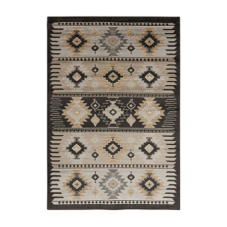 Decor 140 Zuata Rectangular Indoor Rugs, One Size , Gray