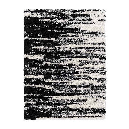 Decor 140 Trask Rectangular Indoor Rugs, One Size , Black
