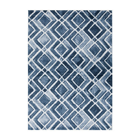 Decor 140 Ronague Rectangular Indoor Rugs, One Size , Blue