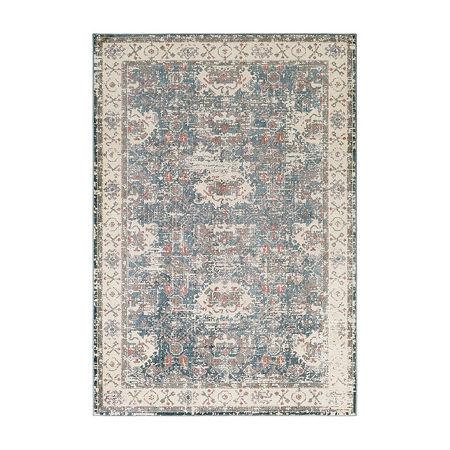 Decor 140 Suri Rectangular Indoor Rugs, One Size , Blue