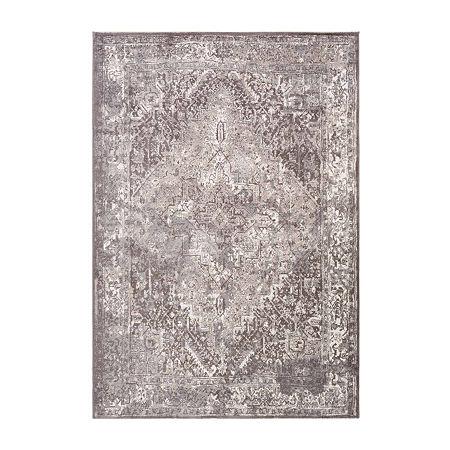 Decor 140 Plasamour Rectangular Indoor Rugs, One Size , Gray