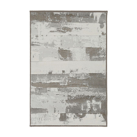 Decor 140 Nara Rectangular Rugs, One Size , White