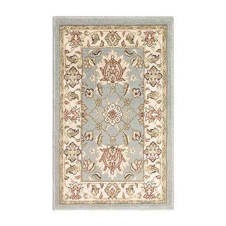 Decor 140 Persian Rectangular Indoor Rugs, One Size , White