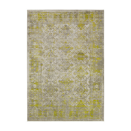 Decor 140 Olin Rectangular Indoor Rugs, One Size , Green