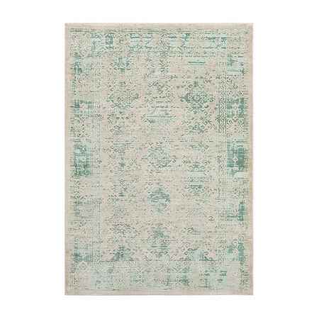 Decor 140 Olin Rectangular Indoor Rugs, One Size , Green