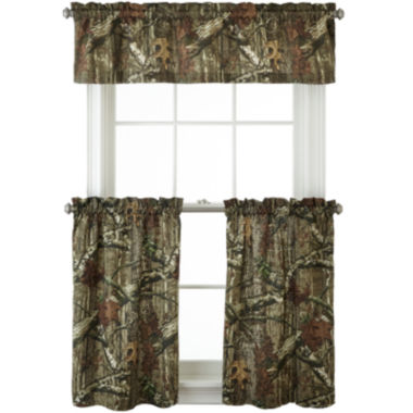jcpenney.com   Mossy Oak® Break Up Infinity Rod-Pocket Camo Kitchen Curtains