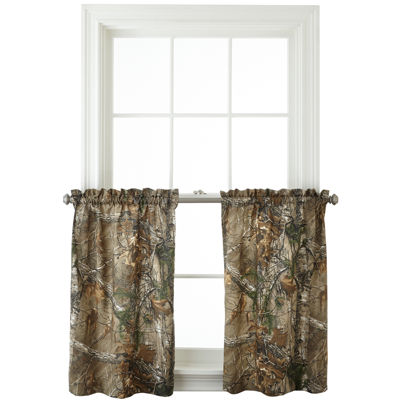 Realtree® Xtra® Camo Rod-Pocket Window Tiers