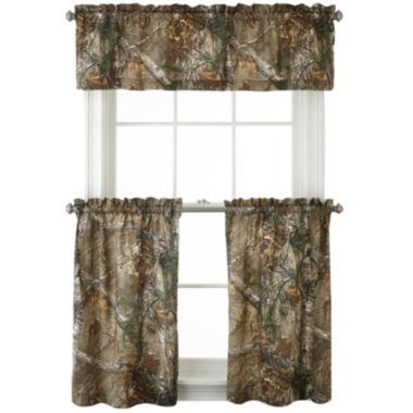 jcpenney.com | Realtree® Xtra® Camo Rod-Pocket Kitchen Curtains