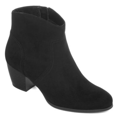 a.n.a Womens Clay Booties Zip