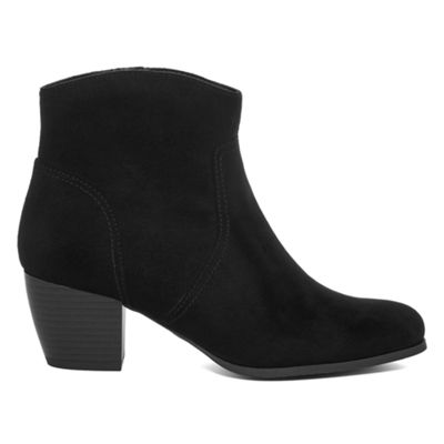 a.n.a Womens Clay Bootie Zip