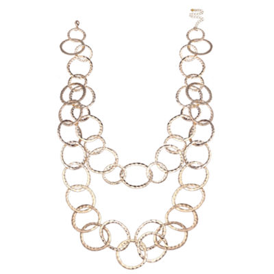 Bold Elements Womens 30 Inch Link Necklace