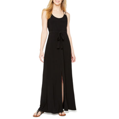 Soho Sleeveless Embellished Maxi Dress