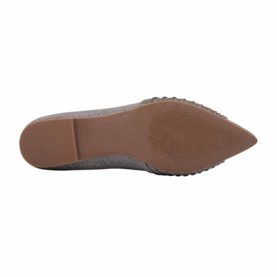I. Miller Womens Kentra Ballet Flats Slip-on Pointed Toe