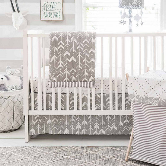 My Baby Sam Little Adventurer 3-pc. Modern Crib Bedding Set