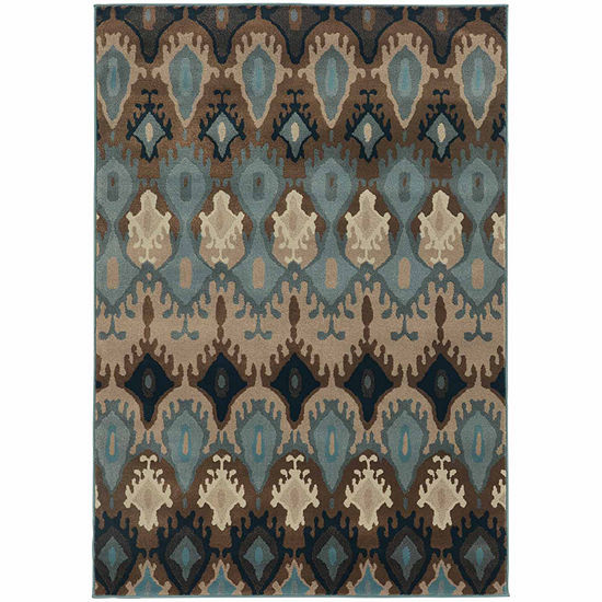 Covington Home Amanda Tribal Rectangular Indoor Rugs