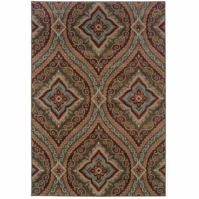 Covington Home Amanda Parlor Rectangular Indoor Accent Rug