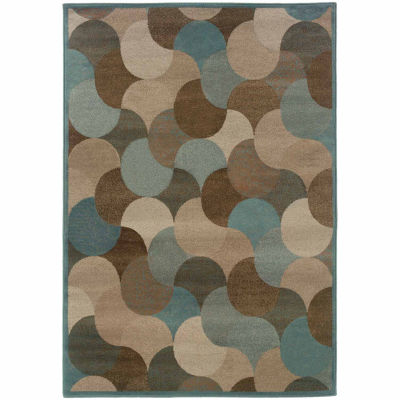Covington Home Amanda Layers Rectangular Indoor Rugs