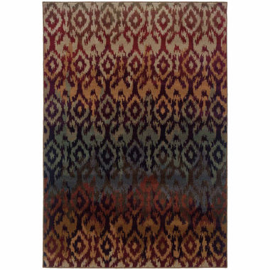 Covington Home Amanda Ikat Rectangular Rugs