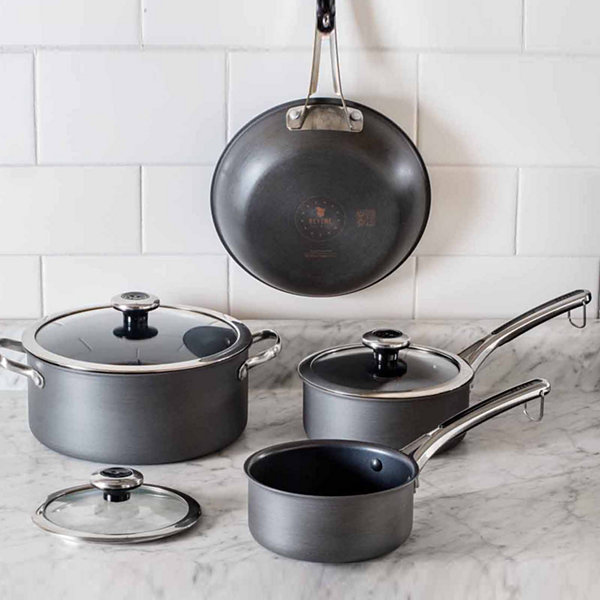 Revere 7-pc. Aluminum Non-Stick Cookware Set