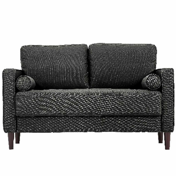 Lancaster Collection Track-Arm Upholstered Loveseat