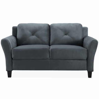 Hayward Trio Roll-Arm Upholstered Loveseat