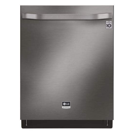 LG STUDIO ENERGY STAR® Top Control Smart Wi-Fi Enabled Dishwasher with QuadWash™, True Steam, Third Rack and EasyRack™ Plus