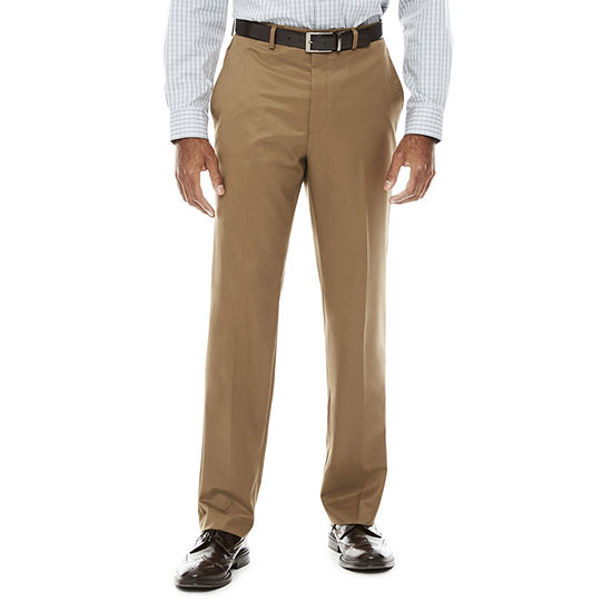 Collection by Michael Strahan Classic Fit Flat Front Twill Dress Pants