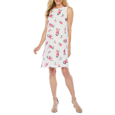Studio 1 Sleeveless Floral Swing Dresses