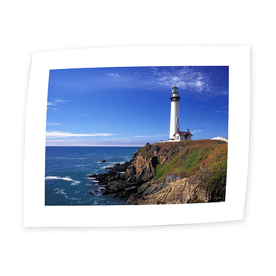Brushstone Pigeon Point Lighthouse Canvas Wall Art