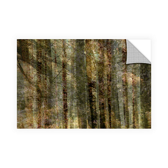 Brushstone Wood For The Trees Removable Wall Decal