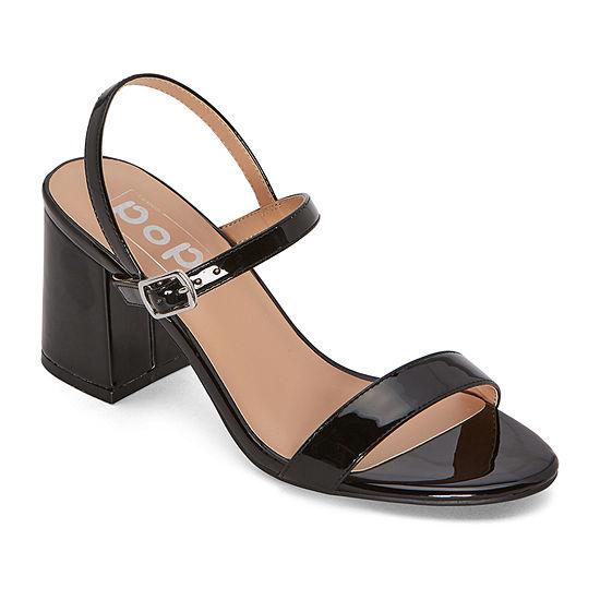 Pop Womens Rafaella Pumps Block Heel