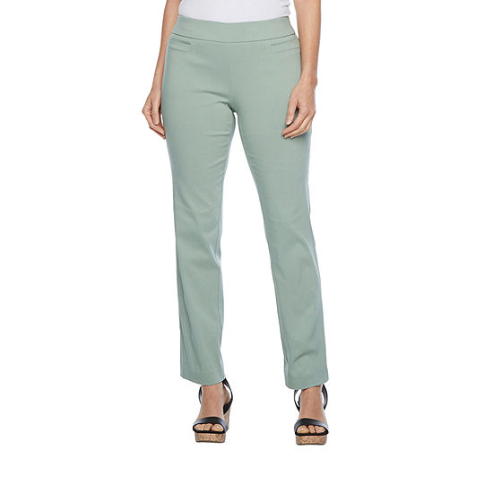 Liz Claiborne Millennium Secertly Slimming Pull On Pant - Tall