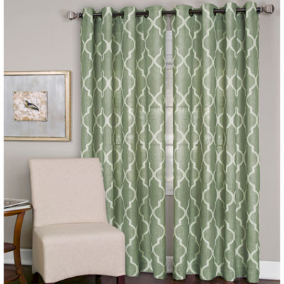 Elrene Medalia Grommet-Top Curtain Panel