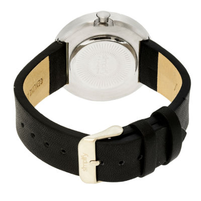 Simplify Unisex The 2700 Black Leather-Band Watch SIM2701