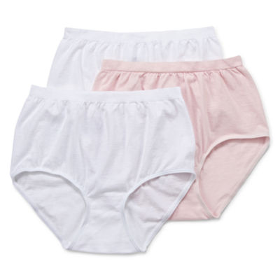Jockey® Comfies® Cotton 3-pk. Brief Panties - 3348