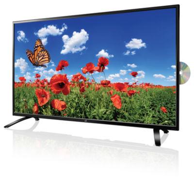 "GPX TDU5045B 50"" 4K Ultra HD 2160p 60Hz DLED HDTV/DVD Combo"