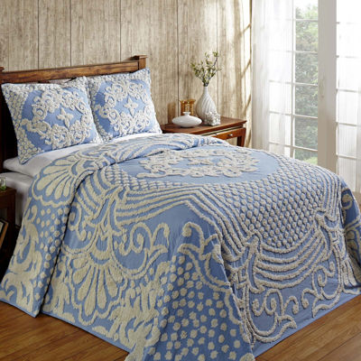 Better Trends Florence Chenille Bedspread & Accessories