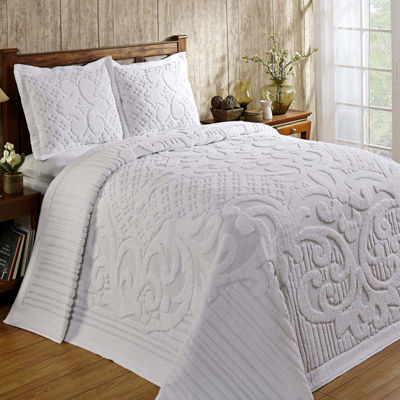 Better Trends Ashton Chenille Bedspread & Accessories