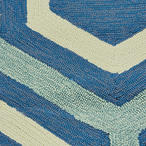 Feizy Rugs® Hexagon Indoor/Outdoor Rectangular Rug