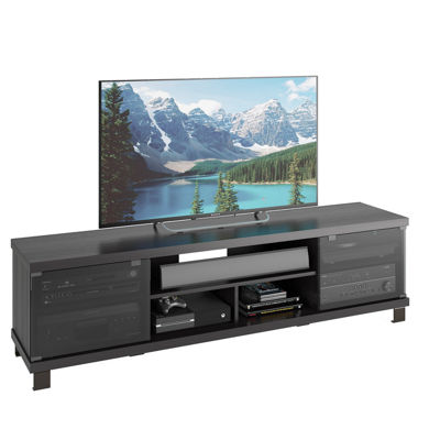 "Holland 71"" Wood TV Bench"