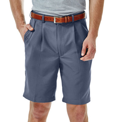 Haggar® Cool 18® Straight-Fit Pleated Shorts