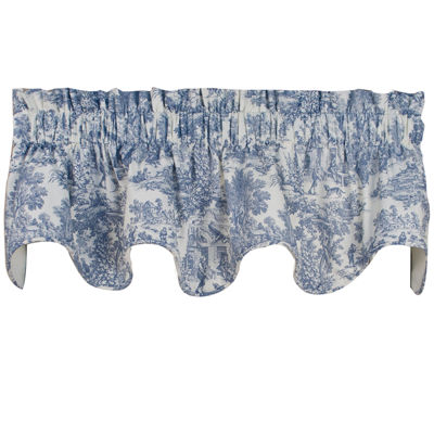 Victoria Park Rod-Pocket Scalloped Valance