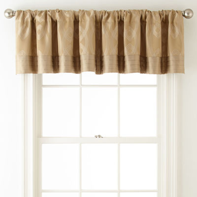 Liz Claiborne® Simone Rod-Pocket Tailored Valance