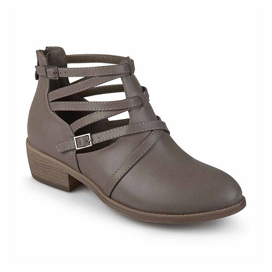 Journee Collection Womens Savvy Booties Block Heel