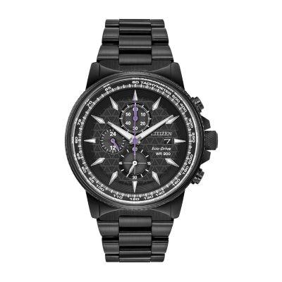 Citizen Black Panther Mens Black Bracelet Watch-Ca0297-52w